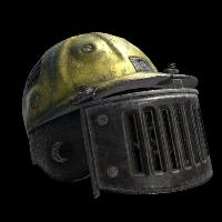 Blast Shield Helmet Rust Skin