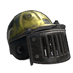 Blast Shield Helmet