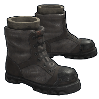 Explorer Boots Rust Skin