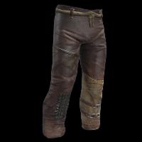 Desert Outlaw Burlap Pants Rust Skin