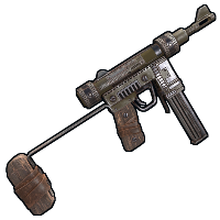 Looter's SMG Rust Skin