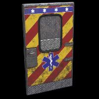 Ambulance Door Rust Skin