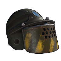 Digger Helmet Rust Skin