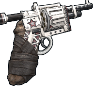 Patriot Revolver Rust Skin