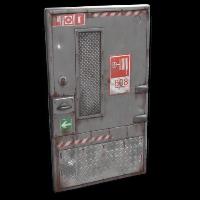 Grey Fire Door