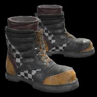 Yellow Race Boots Rust Skin