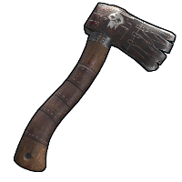Raider Hatchet Rust Skin