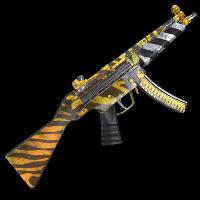 Rust Wild Tiger MP5 Skins