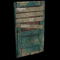 Rust Barricaded Door Skins