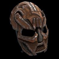Elder's Metal Facemask Rust Skin