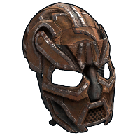 Elder's Metal Facemask