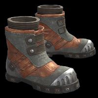 Tailgunner Boots Rust Skin