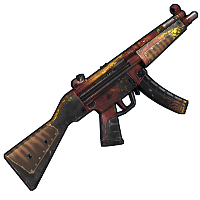 Wild Flame MP5 Rust Skin