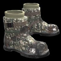 Stalker Boots Rust Skin