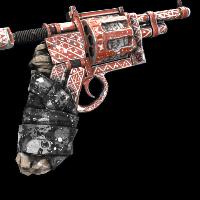 Shamanism Revolver Rust Skin