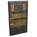 Brass Sentinel Door