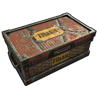 Rust Trash Box Skins