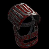 Junkyard Samurai Helmet Rust Skin