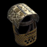 Desert Patrol Helmet Rust Skin