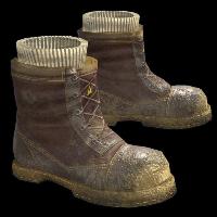 Muddy Boots Rust Skin