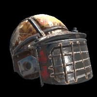Raider Helmet Rust Skin