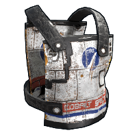 Space Rocket Chest Plate Rust Skin