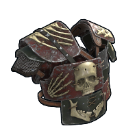 Apocalypse Vest Rust Skin