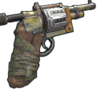 Forest Guardian Revolver Rust Skin