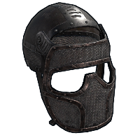 Metalhunter Facemask Rust Skin