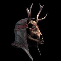 Uprising Deer Skull Mask Rust Skin