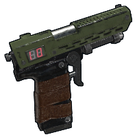 LCD Marine Sidearm Rust Skin