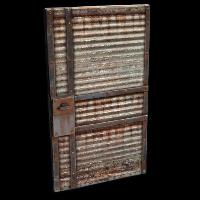 Recycled Garage Door Rust Skin