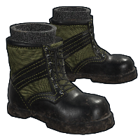 Combat Boots Rust Skin