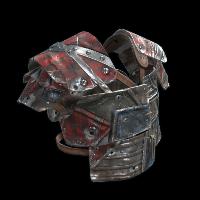 Chopshop Body Armor Rust Skin