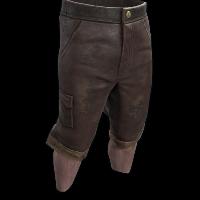 Homemade Shorts Rust Skin