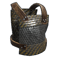 Hazardous Grater Chest Plate Rust Skin