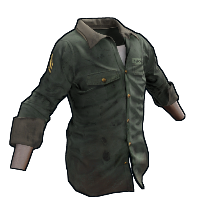 Sergeant Shirt Rust Skin