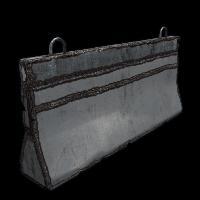 Metal Barricade Rust Skin