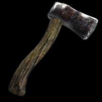Veteran Hatchet Rust Skin