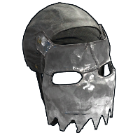 Rust Stainless Facemask Skins