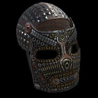 BoltFace Metal Facemask Rust Skin