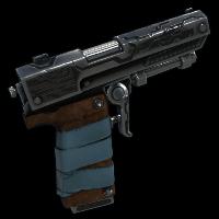 Tehno Pistol Rust Skin
