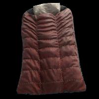 Red Survival Sleeping Bag Rust Skin