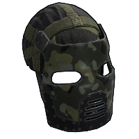 Army Facemask Rust Skin