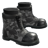 Tactical Boots Rust Skin