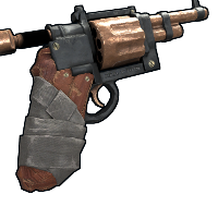 Handmade Revolver Rust Skin