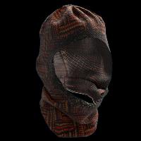 Knitted Balaclava Rust Skin