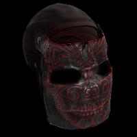 Death Facemask Rust Skin