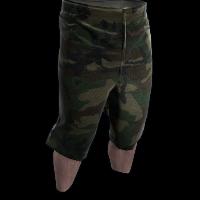 Camo Shorts Rust Skin