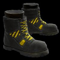 Hazard Move Boots Rust Skin